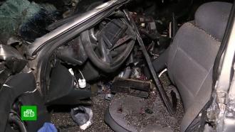 «Лада» под Курском врезалась в автомобиль ГАЗ с семечками и убила трех человек