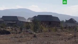 Под Хасавюртом спецназ штурмует дом с боевиками