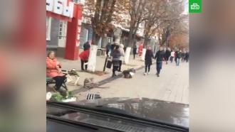 «Чисто по-саратовски»: Панин прокатился на Gelandewagen по пешеходной улице