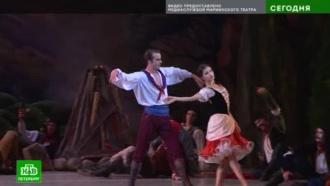 На сцене Мариинского театра появилась самая юная Пахита