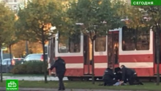 В Петербурге горе-разбойник не смог убежать от конвоиров