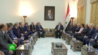 Асад пообещал приехать в Крым