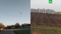 ВВС США подтвердили, что на борту упавшего Су-27 на Украине был американский пилот.Истребитель Су-27 разбился в ходе учебного полета в Винницкой области. Как заявили в Генштабе ВСУ, оба пилота погибли.США, Украина, авиационные катастрофы и происшествия, авиация, учения.НТВ.Ru: новости, видео, программы телеканала НТВ