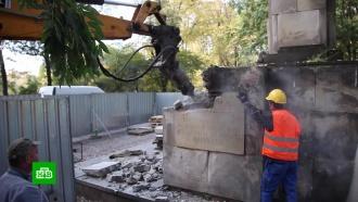 В Варшаве начали сносить памятник Благодарности Красной армии