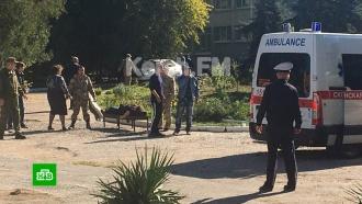 Взрыв газа произошел вколледже вКерчи: есть погибшие ираненые