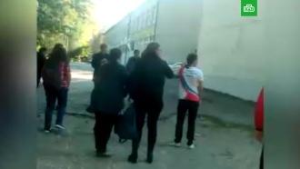 Начало атаки в керченском колледже