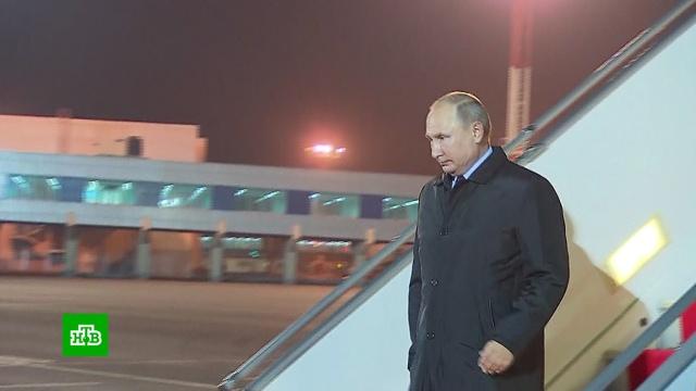 Владимир Путин прибыл с государственным визитом в Узбекистан.Путин, Узбекистан, переговоры.НТВ.Ru: новости, видео, программы телеканала НТВ