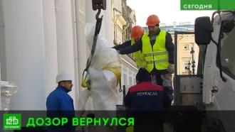 На Аничков дворец Петербурга возвращаются скульптурные стражи