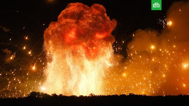 Украина потеряла 40% боеприпасов из-за взрывов на складах.В СМИ появились данные об ущербе от взрывов на военных складах на Украине. .Украина, взрывы.НТВ.Ru: новости, видео, программы телеканала НТВ