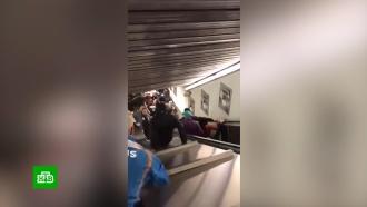 Полиция Рима выясняет, почему эскалатор превратился в мясорубку
