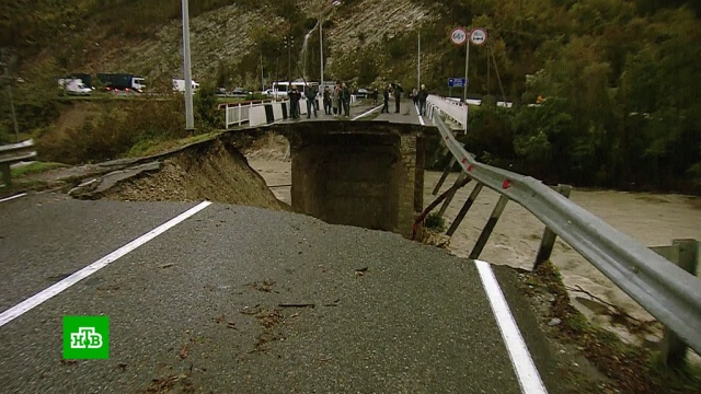 Из-за наводнения на Кубани погибли два человека.Краснодарский край, стихийные бедствия.НТВ.Ru: новости, видео, программы телеканала НТВ