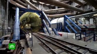 ВМоскве начали строить новый участок Большой кольцевой линии метро