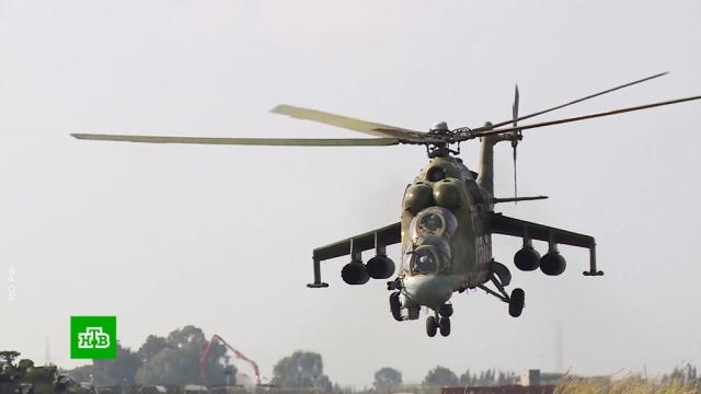 Российские военные вертолетчики отмечают профессиональный праздник.авиация, армия и флот РФ, вертолеты, торжества и праздники.НТВ.Ru: новости, видео, программы телеканала НТВ