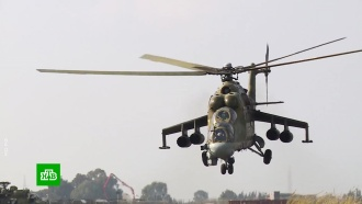 Российские военные вертолетчики отмечают профессиональный праздник