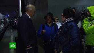 В Москву прибыл первый после кубанского наводнения поезд из Адлера