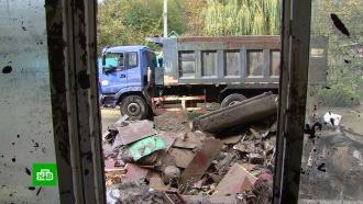 Последствия наводнения на Кубани ликвидируют более 2000человек