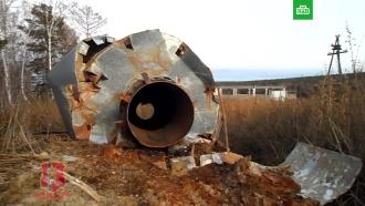 Сибиряки прикинулись грибниками ипопытались украсть водонапорную башню