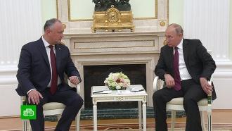 Президент Молдавии заявил о братских отношениях Москвы и Кишинёва