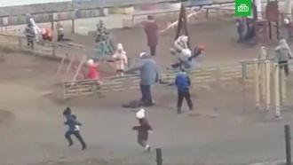 Под Магаданом воспитательница наступила на ребенка на глазах у его отца
