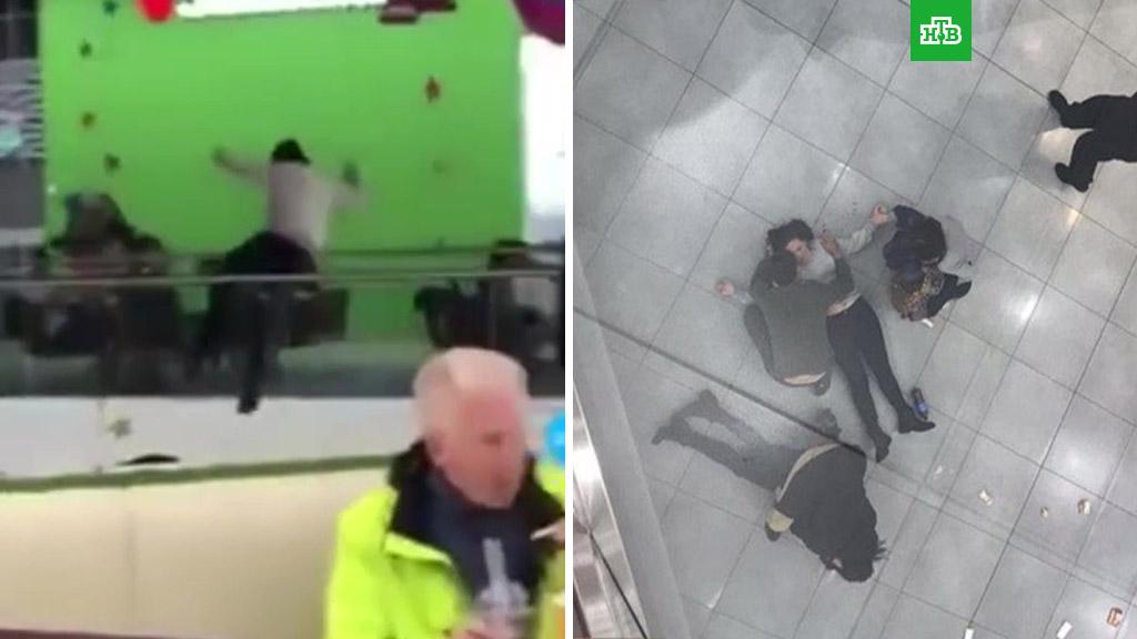 Умерла женщина, упавшая в торговом центре «Хорошо» на другую посетительницу (2018)