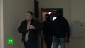 Опубликовано видео задержания экс-прокурора Шаретдинова в Уфе