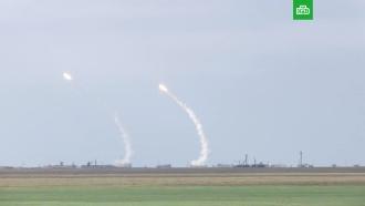 Опубликованы кадры украинских ракетных учений вблизи Крыма