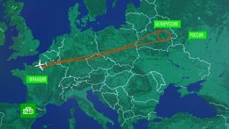 Лайнер Air France мог попытаться пролететь над Россией <nobr>из-за</nobr> компьютерного сбоя