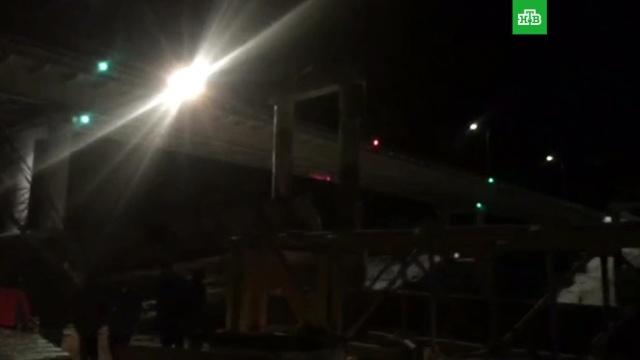 Обрушение моста в ХМАО: видео с места.ХМАО/Югра, мосты, обрушение.НТВ.Ru: новости, видео, программы телеканала НТВ