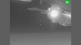 США заявили об опасном перехвате своего самолета российским <nobr>Су-27</nobr>