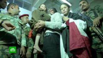 Освобожденные из плена боевиков сирийцы рассказали об ужасах заточения