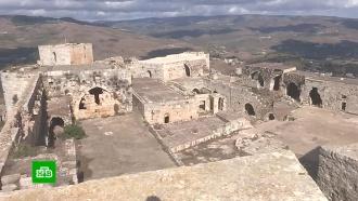 Члены русскоязычной общины в Сирии посетили отбитый у террористов замок Крак-де-Шевалье