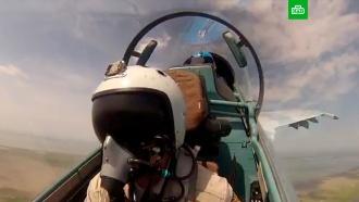 Минобороны показало уникальные кадры учений оперативно-тактической авиации