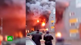 Угорящего гипермаркета вПетербурге рухнула крыша