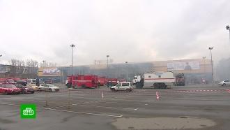 Очевидец: масштабный пожар в питерской «Ленте» начался с пекарни