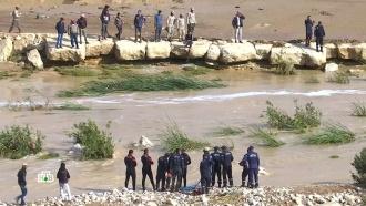 Мощные ливни привели к наводнению в Иордании