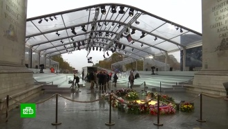Форум мира: в&nbsp;Париже отмечают <nobr>100-летие</nobr> окончания Первой мировой войны