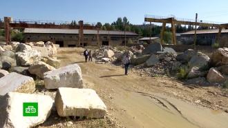 Началась модернизация одного из крупнейших вСирии заводов по обработке мрамора