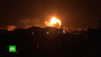 ВВС Израиля разбомбили здание телекомпании всекторе Газа