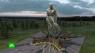 Подо Ржевом начали строить мемориал впамять обоях Великой Отечественной
