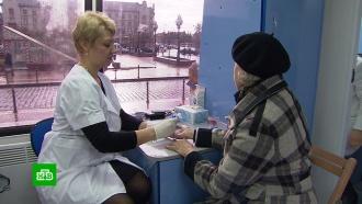 ВДень борьбы сдиабетом укалининградцев проверили уровень сахара вкрови