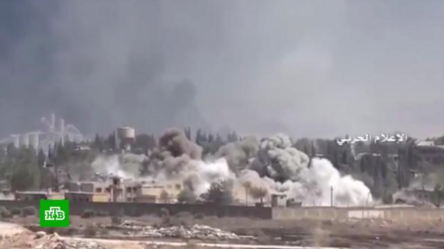 Коалиция США ударила кассетными бомбами по Сирии.Международная коалиция, возглавляемая США, нанесла удары по жилым районам в сирийской провинции Дейр-эз-Зор кассетными бомбами. Среди мирных жителей есть жертвы и пострадавшие.Сирия, войны и вооруженные конфликты.НТВ.Ru: новости, видео, программы телеканала НТВ
