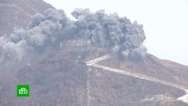 КНДР уничтожила 1000 мин на границе с Южной Кореей.Северная Корея, Южная Корея, ядерное оружие.НТВ.Ru: новости, видео, программы телеканала НТВ