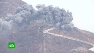 КНДР уничтожила 1000 мин на границе с Южной Кореей