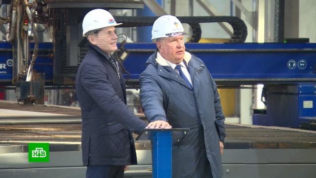 На судоверфи «Звезда» началось серийное производство танкеров класса «Афрамакс».Дальний Восток, Приморье, корабли и суда, судостроение.НТВ.Ru: новости, видео, программы телеканала НТВ