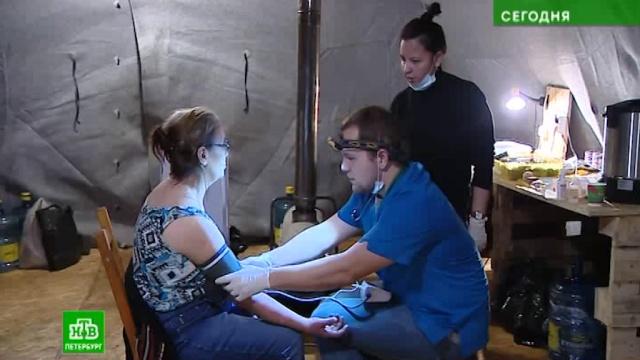 Петербургским бездомным приходят на помощь врачи-волонтеры.Санкт-Петербург, благотворительность, медицина.НТВ.Ru: новости, видео, программы телеканала НТВ
