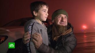 Кадыров подарил Mercedes пятилетнему «Шварценеггеру»