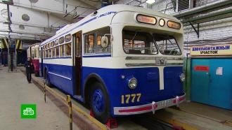От рассвета до заката: московский троллейбус отмечает 85-летие