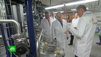 Путин посетил предприятие по производству инсулина в Петербурге