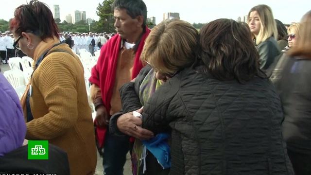 Семьи моряков подлодки San Juan хотят узнать правду окатастрофе.Аргентина, подлодки, поисковые операции.НТВ.Ru: новости, видео, программы телеканала НТВ