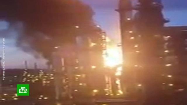 Пожар на НПЗ вКапотне не испортил воздух вМоскве.Москва, заводы и фабрики, пожары.НТВ.Ru: новости, видео, программы телеканала НТВ
